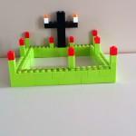 Gott ist da auf dem blühenden Friedhof als Zeichen der Hoffnung